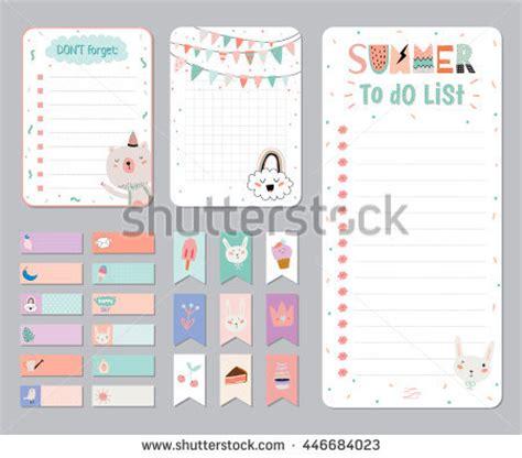 daily planner template vector ruslana vasiukova s portfolio on shutterstock