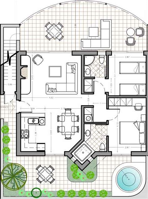 modern bungalow floor plans modern bungalow floor plans estate buildings