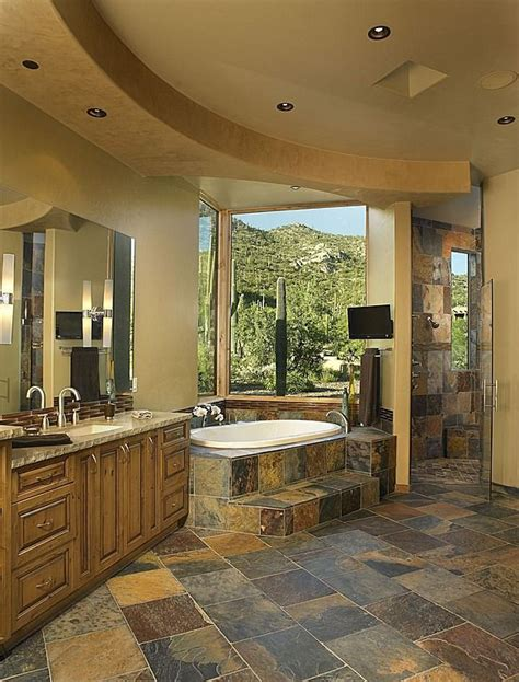 Rustic Master Bathroom Ideas Like The Layout Not A Fan Of The Rustic Look Though Rustic Master Bathroom Found On Zillow
