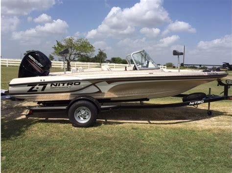 nitro boats for sale in texas nitro z7 sport boats for sale in texas