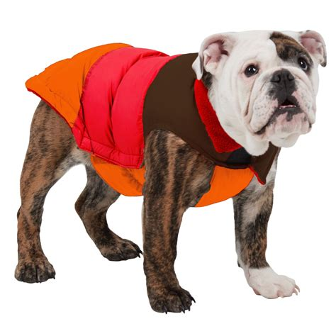 fab dogs fab color block puffer jacket insulated save 70