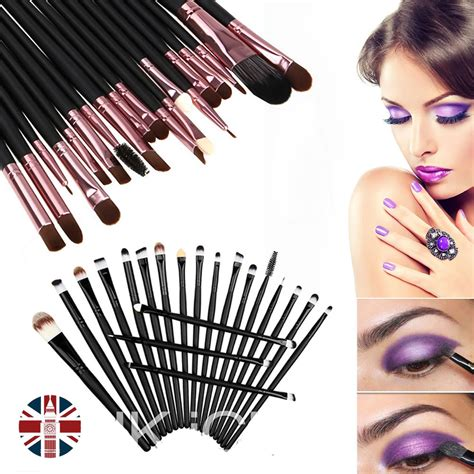 Kuas Make Up Satu Set kuas make up uk professional cosmetic brush 20 set black