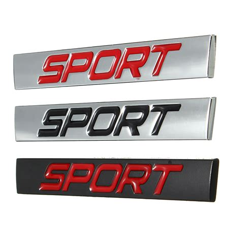 7 Car Sticker by Car Sticker Rear Fender Emblem Badge Metal Sport For Jetta