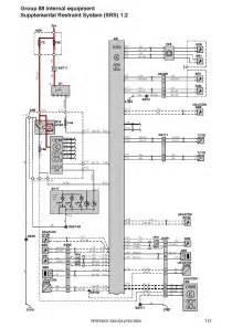 volvo s40 v50 s60 s70 v70 c70 xc70 s80 xc90 workshop electrical wiring diagram 2004 2006