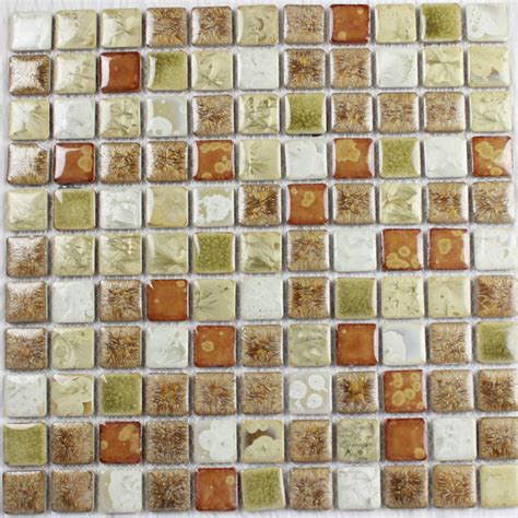 copper glass and porcelain square mosaic tile designs glazed porcelain square mosaic tiles wall designs ceramic