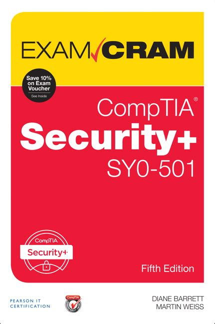 comptia security sy0 501 cram 5th edition books cram