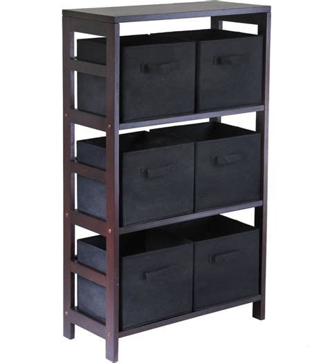 storage bookshelves with baskets 6 basket storage shelf in bookcases