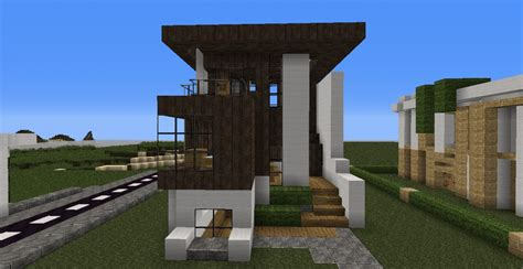 small house minecraft small modern minecraft house blueprints small modern house
