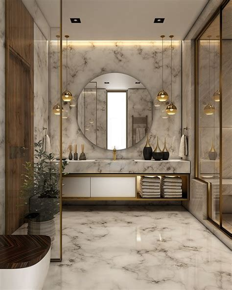 luxurious bathroom  behance ideas  home
