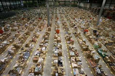 amazon warehouse inside an amazon warehouse