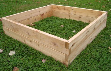 custom cedar raised garden beds  sunnyside projects