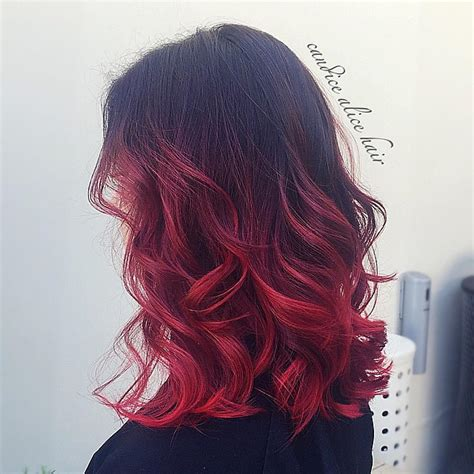 red ombre hair 25 insanely awesome ombre hair red blue purple blonde