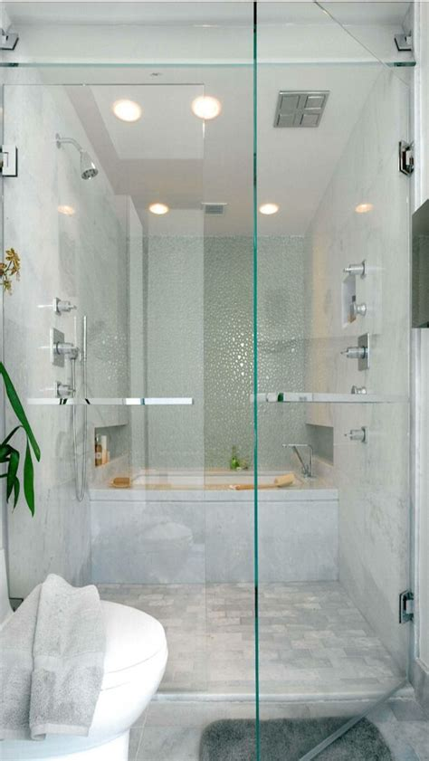 walk in shower with tub inside patterson disston architects modern bathrooms