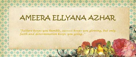 Ameera By Aqiladyna Wattpad ameera ellyana azhar
