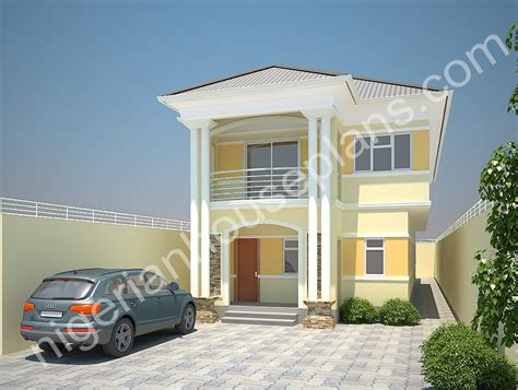 4 bedroom duplex designs nigerianhouseplans your one stop building project