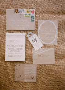 madeline josh s rustic kraft paper tennessee wedding invitations