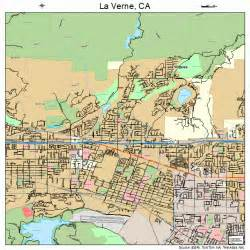 la verne california map 0640830
