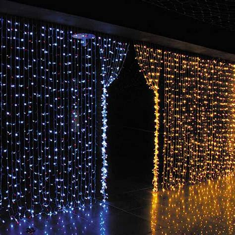 led curtain wall christmas wedding decoration connectable copper wire led