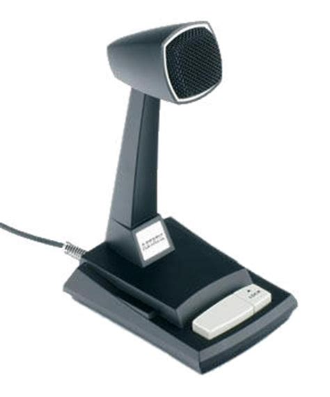 Desk Microphones by Astatic 878dm Power Desk Microphone