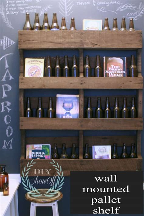 shelves out of pallets 21 brilliantly clever diy pallet shelves to make for any