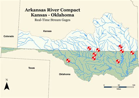 oklahoma rivers map oklahoma water resources board interstate compacts
