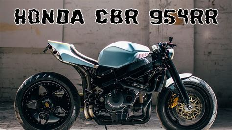 R Rr Custom Honda Cbr 954 Rr Custom Retro Fighter
