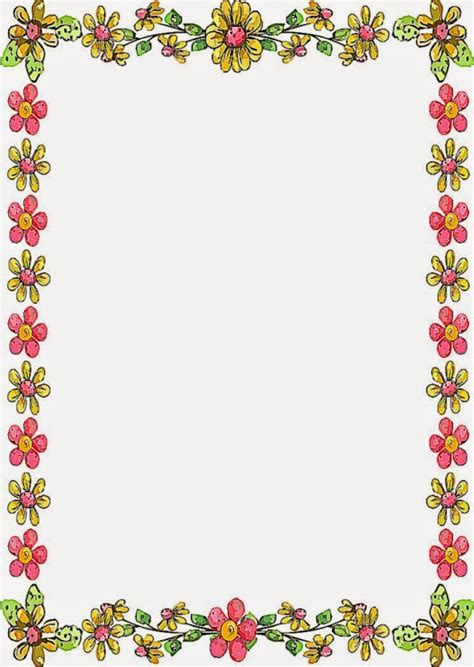 flower border designs for page www imgkid the