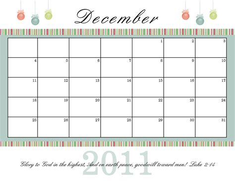 printable calendar christmas the blogging pastors wife printable december calendars