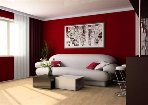 consejos para la decoraci 243 n de interiores en rojo ideas
