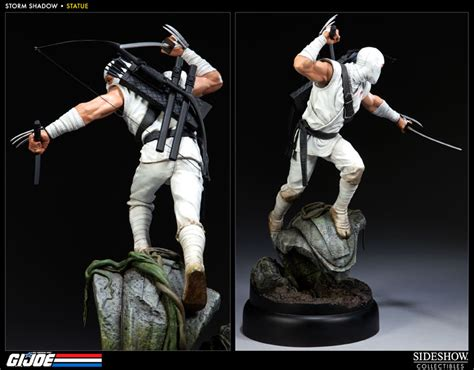 storm shadow tattoo g i joe shadow polystone statue by sideshow