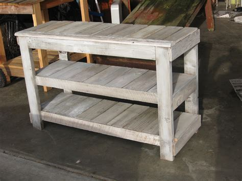 white washed tv stand garden woodworks