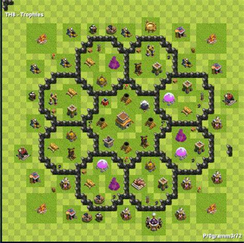 layout imbativel cv 8 centro da vila nivel 8 melhor layout clash of clans dicas
