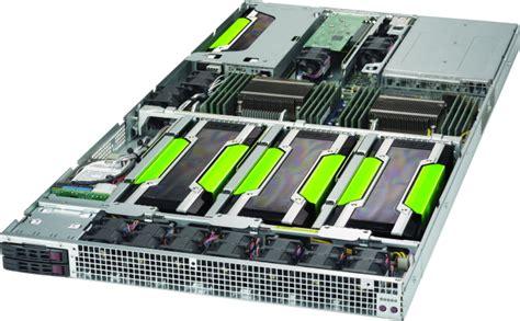Tesla Compute Cluster 1u Tesla Gpu Server Dense Server With 4 Gpus