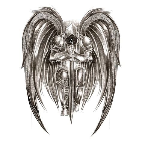 warrior angel tattoos best 25 warrior ideas on