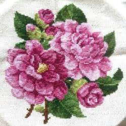 cross stitch you have to see peony cross stitch on craftsy