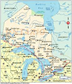 map of northern ontario canada maps of ontario canada