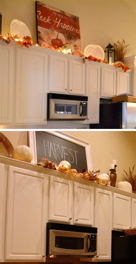 20 Stylish And Budget Friendly Ways To Decorate Above Kitchen Decor Above Cabinets