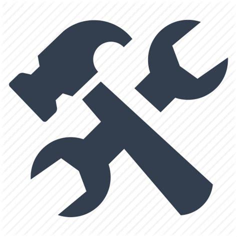 repair icon bulding hammer preferences renovation repair settings