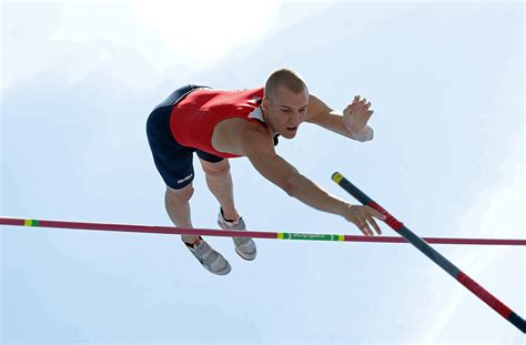 the pole vault chionship of the entire universe books kendricks wins ncaa pole vault vaulter magazine