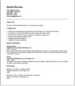 How To Write Your Own Resume by Education Resume Exles