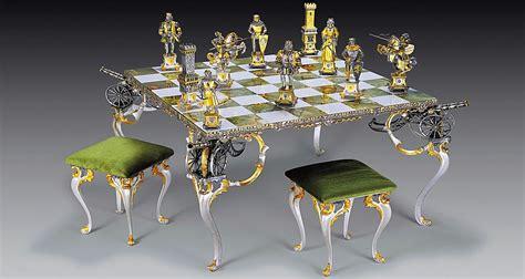 table echiquier tables et jeu d echecs bronze or page 2 le palais des