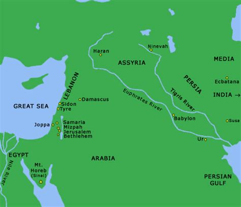 middle east map testament learn to read the bible effectively