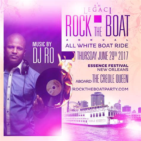 rock the boat white party rock the boat 2017 the annual all white boat ride party