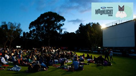 Moonlight Cinema Melbourne Royal Botanic Gardens Moonlight Cinema