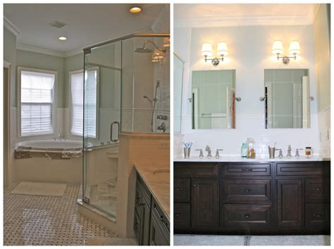 Design of bathroom design with shower and bathroom vanities lowes with