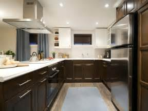 Kitchen Cabinets Two Colors by Two Tone Kitchen Cabinets Color Pick For Contrast Renewal
