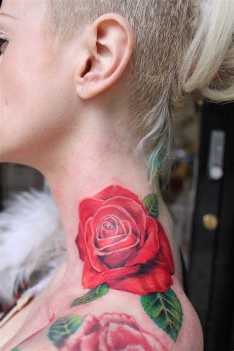 ruby rose tattoos neck tattoos page 18