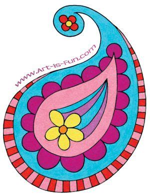 paisley pattern art lesson drawings patterns and paisley pattern on pinterest