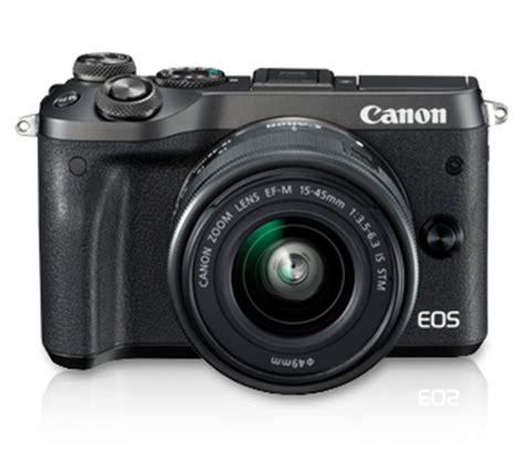 Best Seller Canon Eos M6 Canon M6 Kit 15 45 Is Stm Paket 32gb Garans eos m6 kit ef m15 45 is stm canon india personal