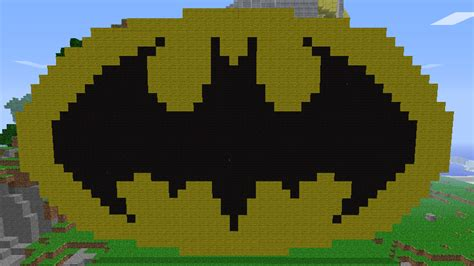 minecraft pixel templates batman minecraft pixel batman by twistedanimations on deviantart